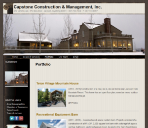 General Contractor – TetonTrekker Designs